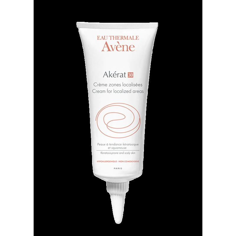 Крем для локального нанесения на зоны с уплотнениями и шелушениями Akérat (Акерат) 30, Avène (Авен), 100 мл