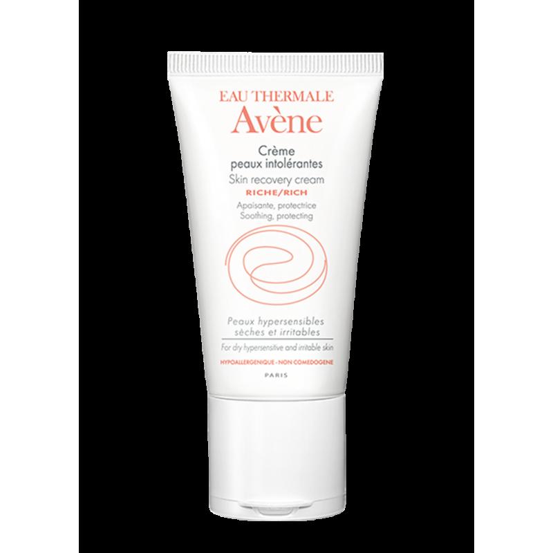 Насыщенный восстанавливающий крем для сверхчувствительной кожи Peaux intolerantes Riche (Интолерант риш), Avène (Авен), 50 мл