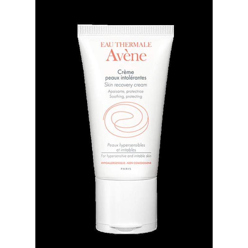 Восстанавливающий крем для сверхчувствительной кожи Peaux intolerantes (Интолерант), Avène (Авен), 50 мл