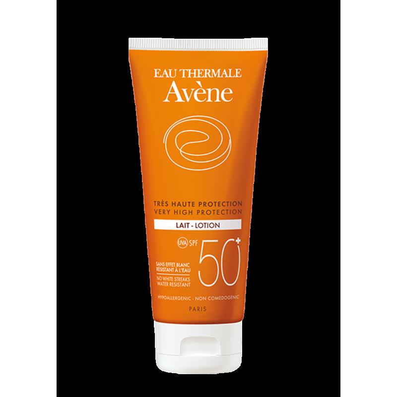 Солнцезащитное молочко SPF50+, Avène (Авен), 100 мл