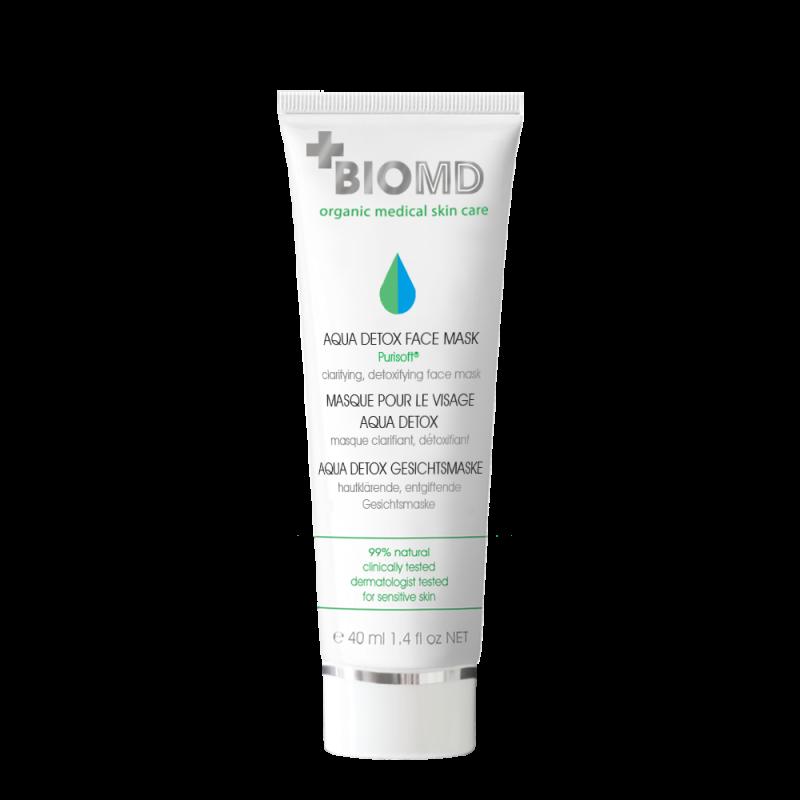 Маска для лица Aqua Detox 24h (Аква Детокс), BioMD  (Биомед), 40мл
