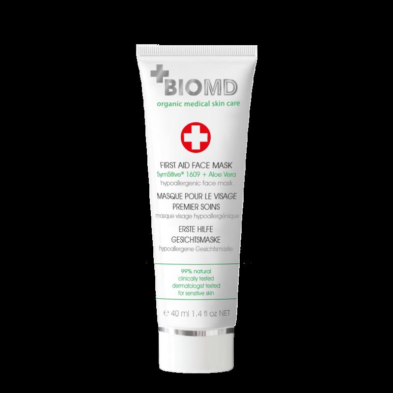 Маска для лица First Aid (Первая помощь) BIOMD (Биомед), 40 мл