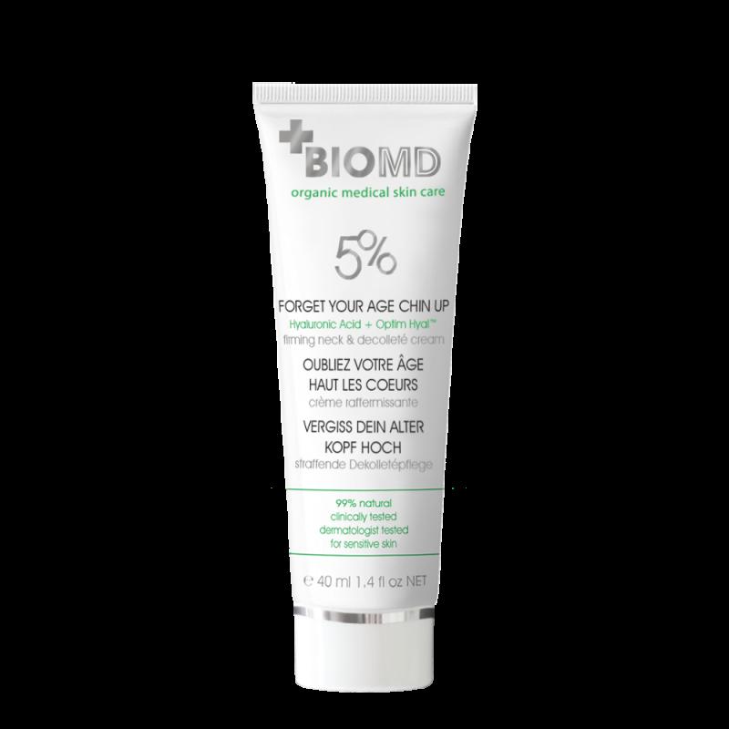 Крем для шеи и декольте Forget your age (Забудь свой возраст), BioMD (Биомед), 40 мл