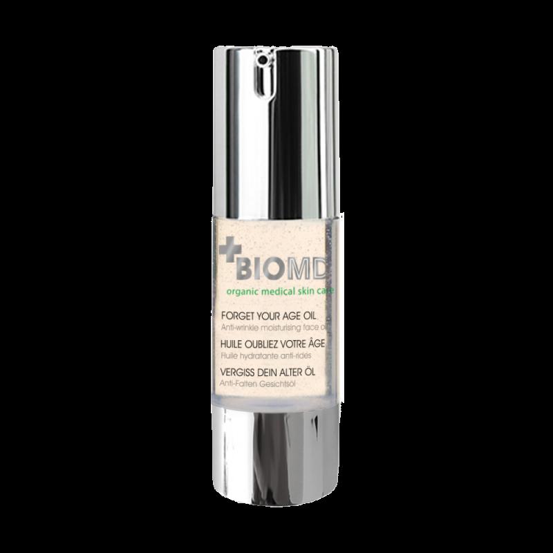Масло увлажняющее для лица против морщин,  Forget your age (Забудь свой возраст), BioMD (Биомед), 30 мл