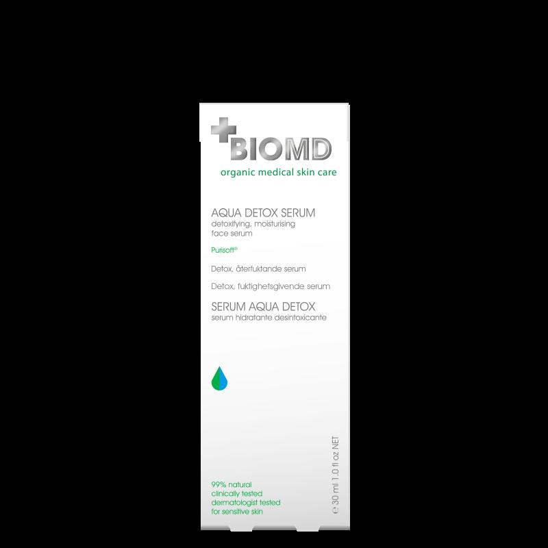 Сыворотка для лица 24 часа Aqua Detox 24h (Аква Детокс), BioMD  (Биомед),30 мл