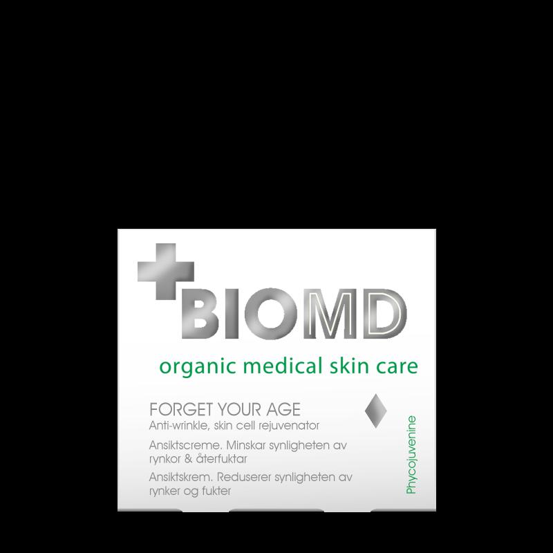 Крем для лица против морщин Forget your age (Забудь свой возраст), BioMD  (Биомед), 50 мл