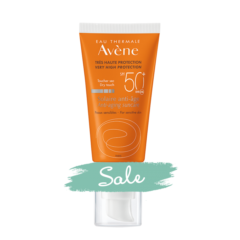 Солнцезащитный антивозрастной крем SPF50+, Avène (Авен), 50 мл