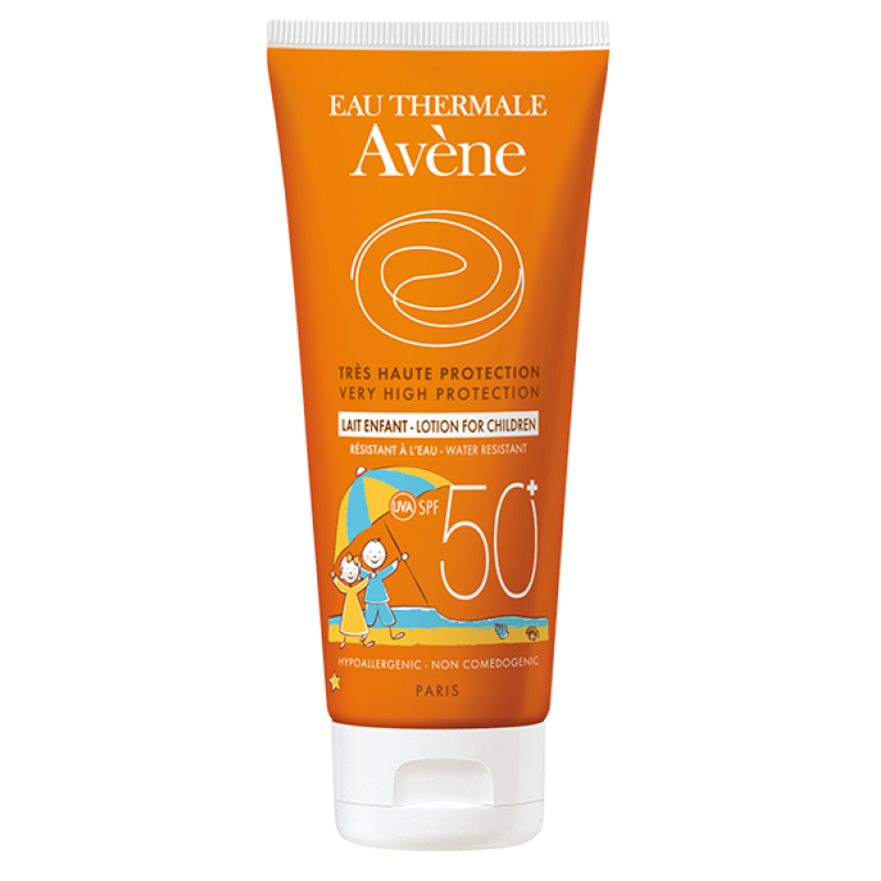 Детское солнцезащитное молочко SPF50+, Avène (Авен), 100 мл
