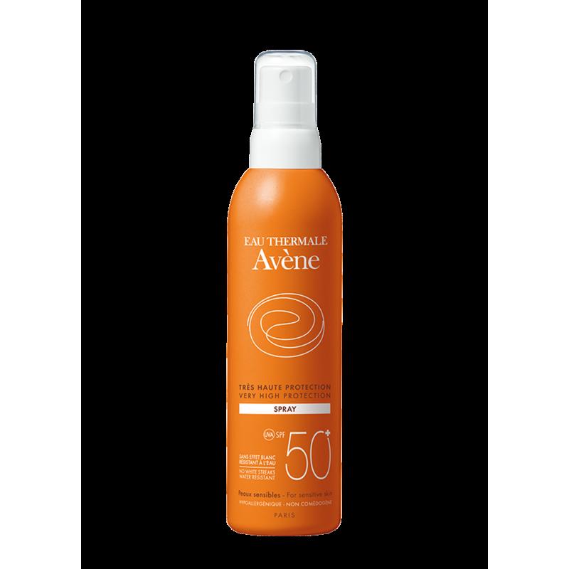 Солнцезащитный спрей SPF50+, Avène (Авен), 200 мл