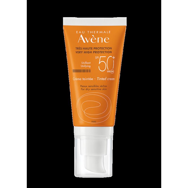 Солнцезащитный крем тонирующий SPF50+, Avène (Авен), 50 мл